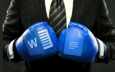 Microsoft Word vs Google Docs
